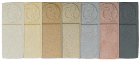 orchard stone cast stone colour samples
